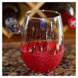Honorary Gilmore Girl - Wine Glass - Twinkle Twinkle Lil' Jar - 1