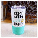 Don't Worry Beer Happy Travel Mug / Tumbler - Twinkle Twinkle Lil' Jar - 1