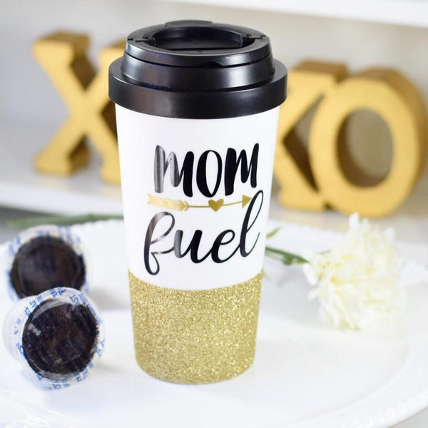 Mom Fuel - Travel Mug