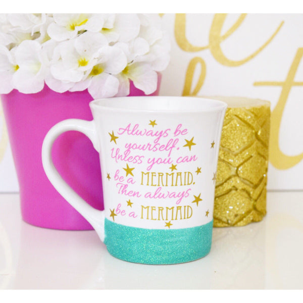 Always Be A Mermaid - Coffee Mug - Twinkle Twinkle Lil' Jar - 1