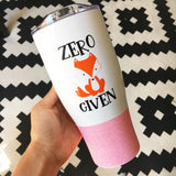 Zero Fox Given - Stainless Steel Travel Mug / Tumbler