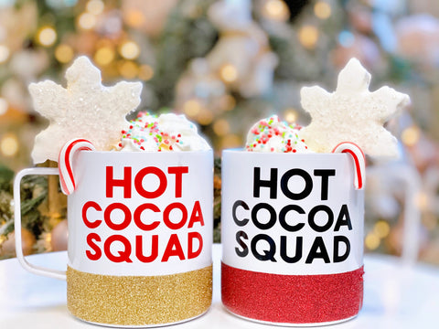 Hot Cocoa Squad - Stainless Steel Coffee Mug