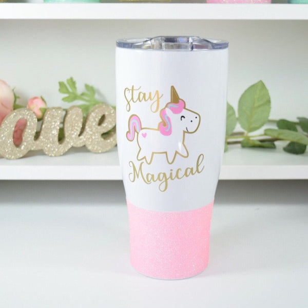 Stay Magical Unicorn - Stainless Steel Travel Mug