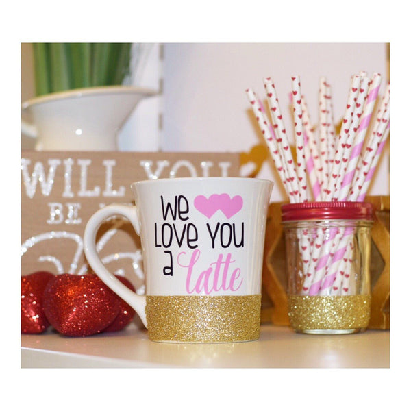 We Love You A Latte - Coffee Mug - Twinkle Twinkle Lil' Jar - 1
