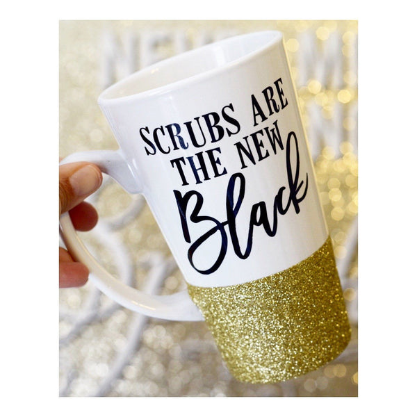 Scrubs Are The New Black - Coffee Mug - Twinkle Twinkle Lil' Jar - 1