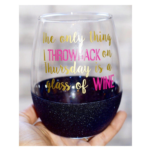 Throwback Thursday - Wine Glass - Twinkle Twinkle Lil' Jar - 1
