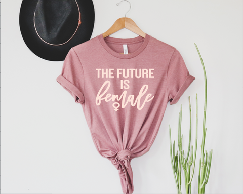 The Future is Female Adults Tee