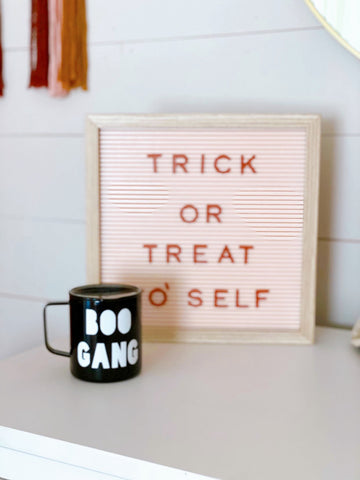 Boo Gang - Stainless Steel Coffee Mug
