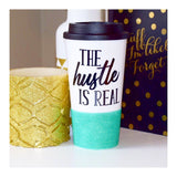 The Hustle Is Real - Coffee Travel Mug - Twinkle Twinkle Lil' Jar - 1
