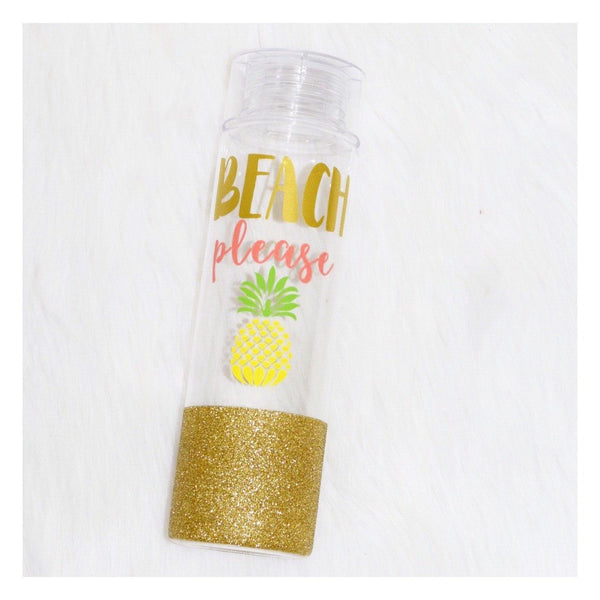 Beach Please  - Water Bottle - Twinkle Twinkle Lil' Jar - 1