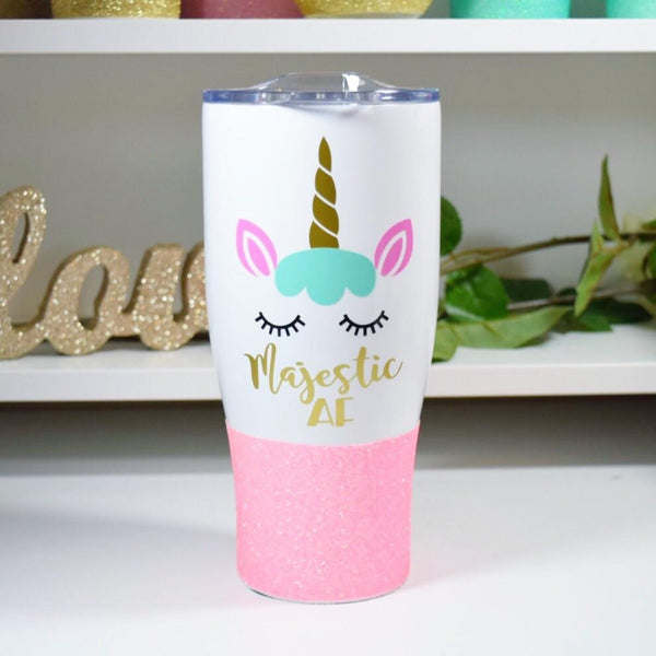 Unicorn Majestic AF - Stainless Steel Travel Mug