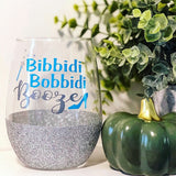 Bibbidi Bobbidi Booze- Wine Glass