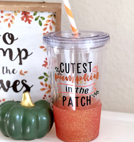 Cutest Pumpkin in the Patch - Twinkle Tike Tumbler
