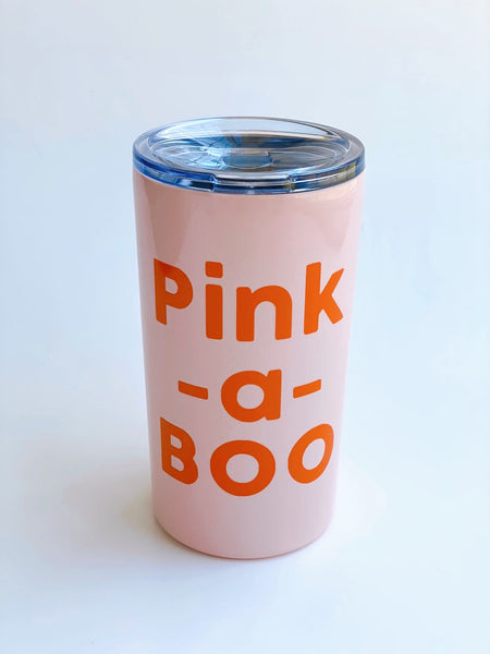 Pink A Boo - Twinkle Tike Stainless cup