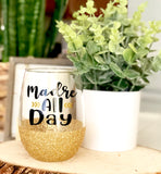 Madre All Day - Mom Wine Glass