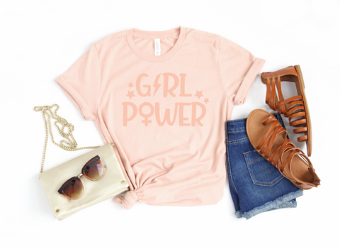 Girl Power Adults Tee