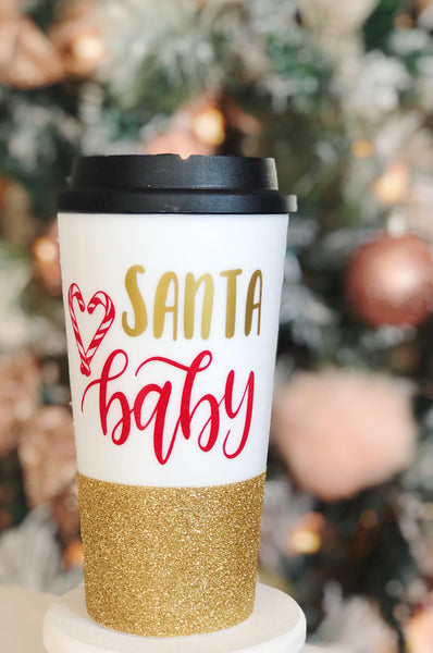 Santa Baby - Coffee Travel Mug
