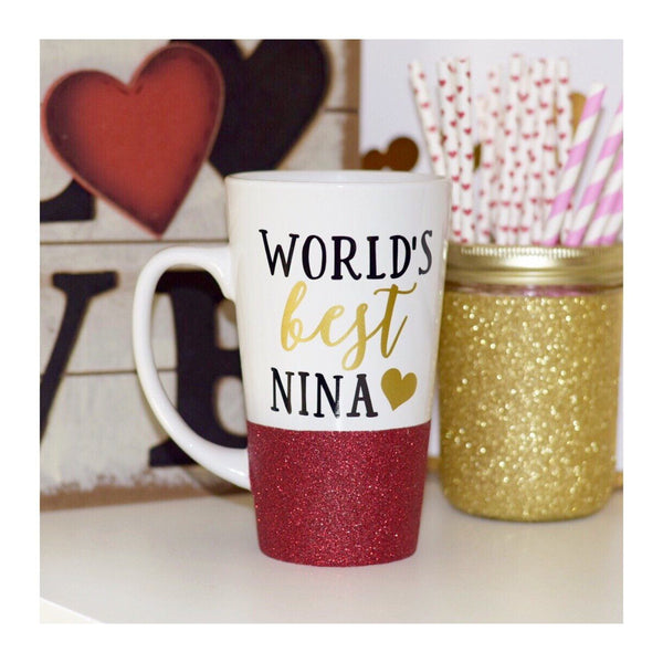 World's Best Nina - Coffee Mug - Twinkle Twinkle Lil' Jar - 1