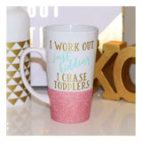 I Work Out Just Kidding I Chase Toddlers - Coffee Mug - Twinkle Twinkle Lil' Jar - 1