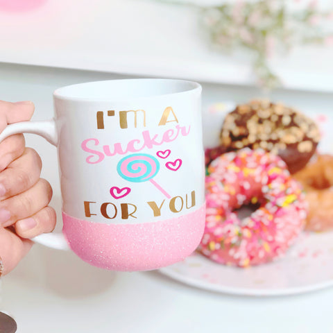 Sucker For You - Valentine's Day Coffee Mug