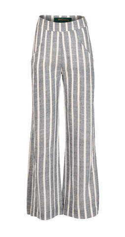 Trina bukse, denim stripe
