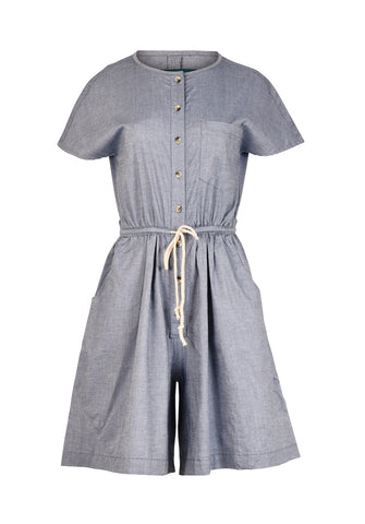 Thelma buksedress, Denim