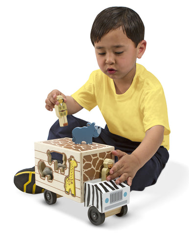 Animal Rescue Shape-Sorting Truck.