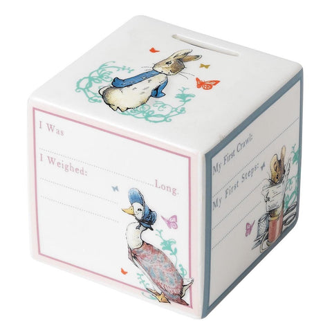 Peter Rabbit New Baby Money Box