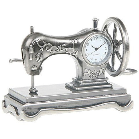 Miniture Sewing Machine Clock.
