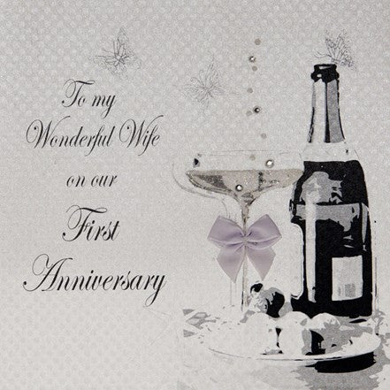 FIRST ANNIVERSARY - TO MY WIFE