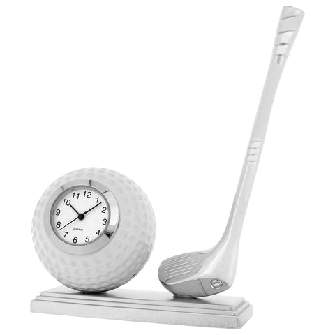 Miniature Golf Ball and Club Clock.