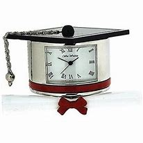 Miniature Graduation Clock.
