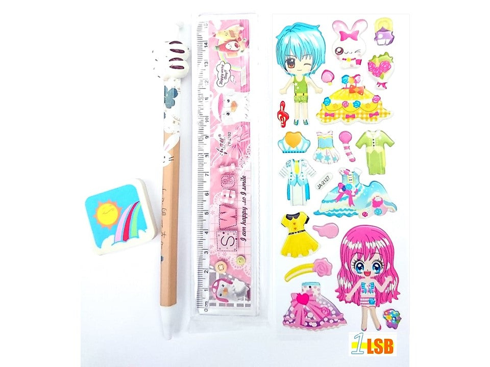 "NEW! SVT14A ""Happy Rabbit"" Stationary Set A"