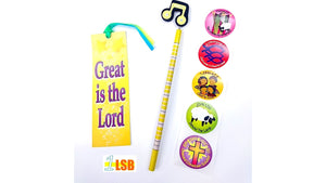 "Just Arrived! SVT15 ""Great is the Lord"" Stickers Pencil Set"