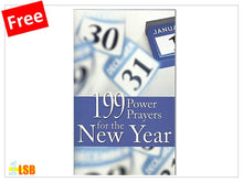 Load image into Gallery viewer, PABG32 199 Power Prayers for the Year (Free Book Giveaway - N)