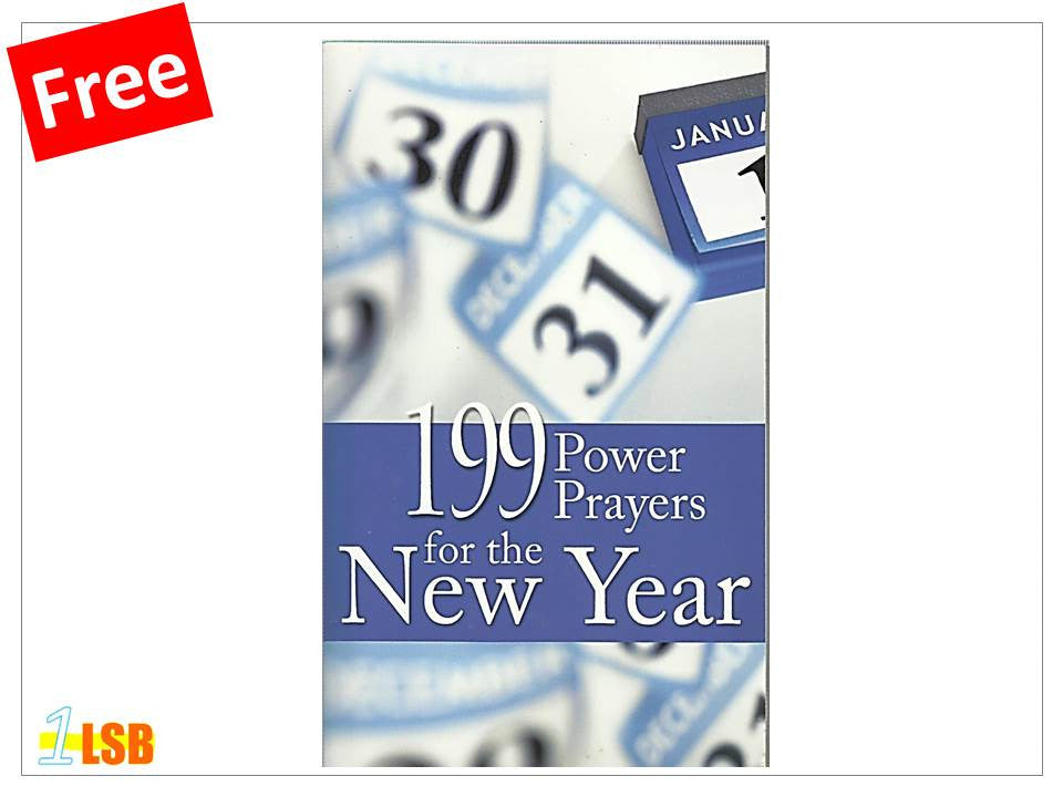 PABG32 199 Power Prayers for the Year (Free Book Giveaway - N)