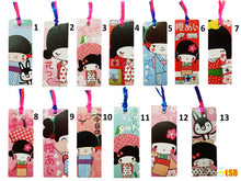 "将图片加载到图库查看器,SWSK50  ""Happy Girl"" Bookmark Super Value Set of 12"