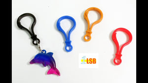 SUKD08 Acrylic Kids Hook Set of 14 Assorted Colours