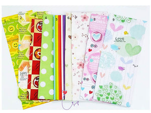 "SWSK50  ""Happy Girl"" Bookmark Super Value Set of 12"
