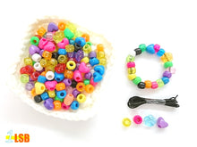 "将图片加载到图库查看器,DIYC02 ""Shining Days"" DIY 20 Beads & Elastic Cord Set"