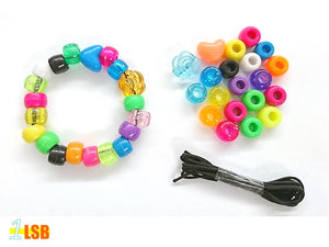 "DIYC02 ""Shining Days"" DIY 20 Beads & Elastic Cord Set"