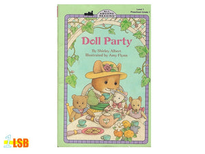PABGF03 Doll Party (Free Book Giveaway-Preloved)