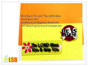 "FMB03 ""Good Easter"" Magnetic Bookmark and Pin Set #3"