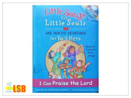 (UP to 60% OFF) PABC76 Little Songs for Little Souls CD and Devotions & Songs Book - I Can Praise the Lord