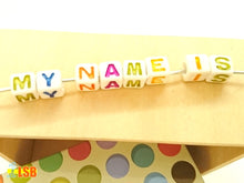 "Load image into Gallery viewer, DIYC09 ""My Colours"" Letter Beads Set"