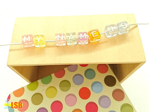 "DIYC10 ""My Sweets"" Letter Beads Set"