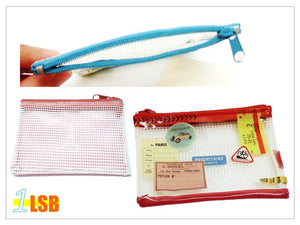"PSS04 - ""Life is Journey"" PVC Zipper Purse"
