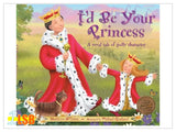(UP to 60% OFF) PABC80 I'd Be Your Princess