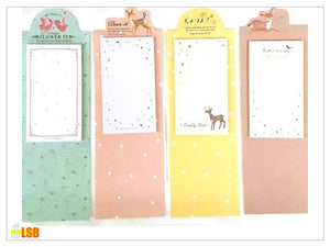 "SWSK27 ""Flora 1"" Sticky Notes Pad Set of 11"