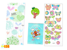 "Load image into Gallery viewer, SVT12 ""Love Jesus"" 3D Stickers Notebook Magnet Super Value Set"
